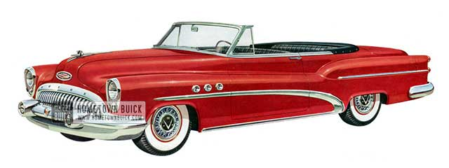 1953 Buick Super Convertible - Model 56C