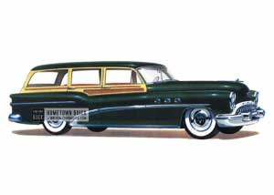 1953 Buick Super Estate Wagon - Model 59 HB