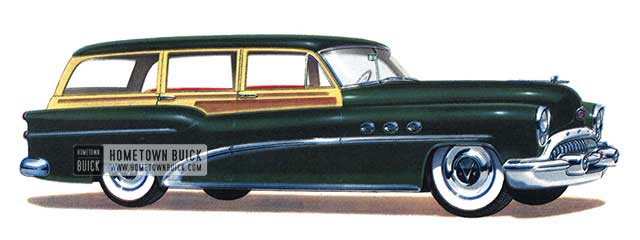 1953 Buick Super Estate Wagon - Model 59