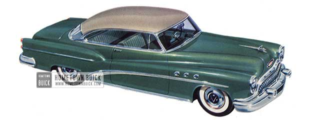 1953 Buick Super Riviera - Model 56R