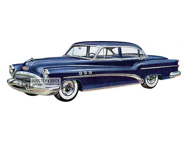 1953 Buick Super Sedan - Model 52 HB