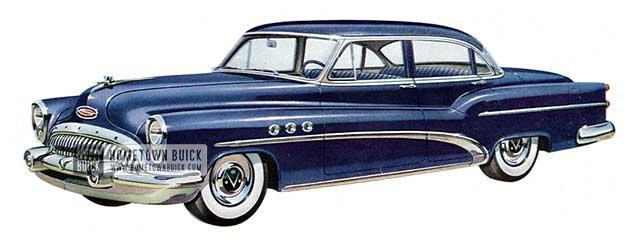 1953 Buick Super Sedan - Model 52