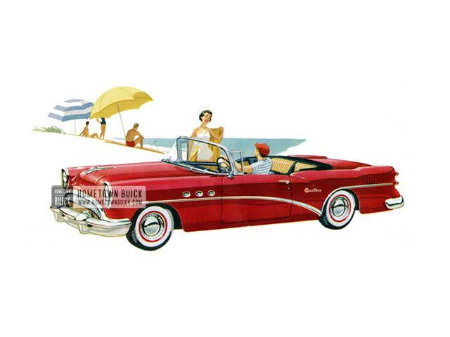 1954 Buick Century Convertible - Model 66C HB