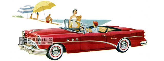 1954 Buick Century Convertible - Model 66C