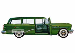 1954 Buick Century Estate Wagon - Model 69 HB