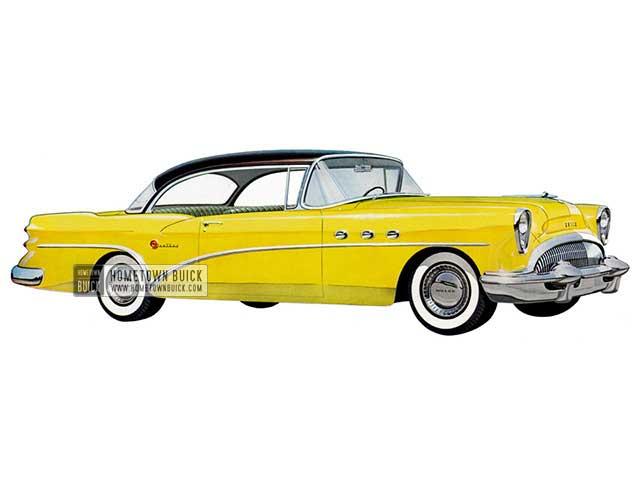 1954 Buick Century Riviera - Model 66R HB