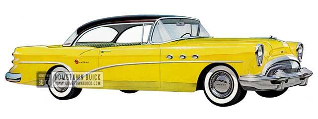 1954 Buick Century Riviera - Model 66R