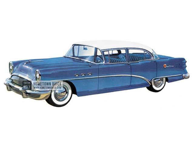 1954 Buick Century Sedan - Model 61 HB