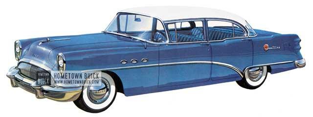1954 Buick Century Sedan - Model 61