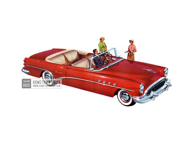 1954 Buick Roadmaster Convertible - Model 76C HB