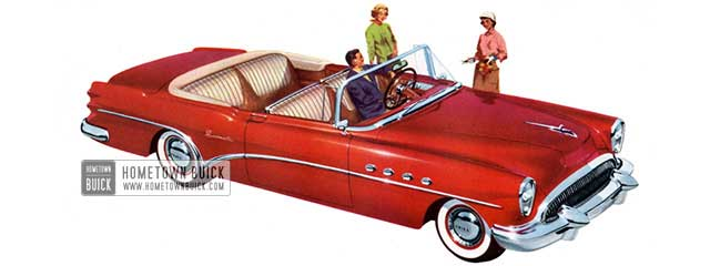 1954 Buick Roadmaster Convertible - Model 76C