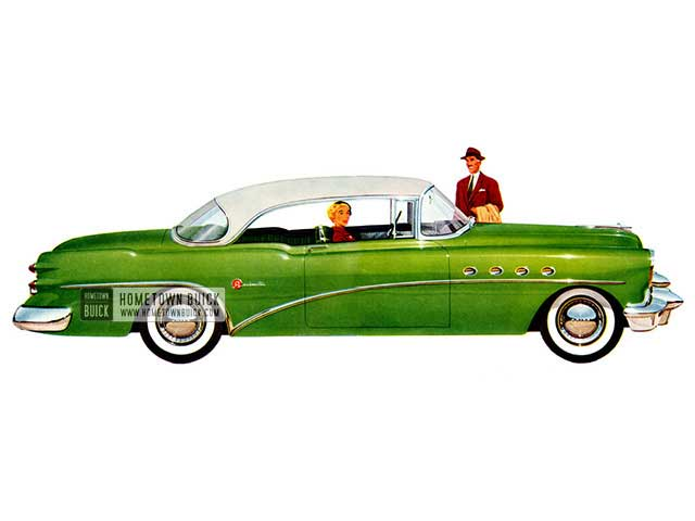 1954 Buick Roadmaster Riviera - Model 76R HB