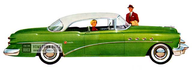 1954 Buick Roadmaster Riviera - Model 76R
