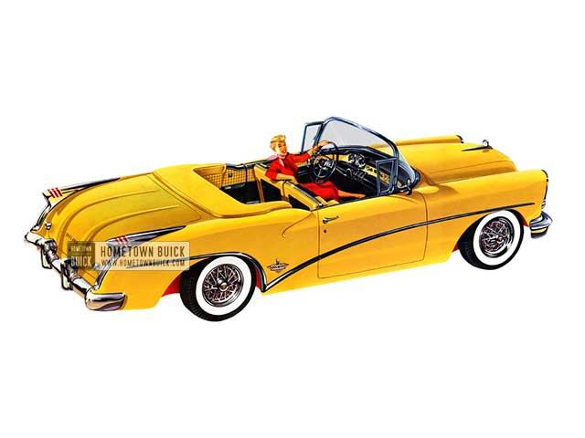 1954 Buick Skylark Convertible - Model 100 HB