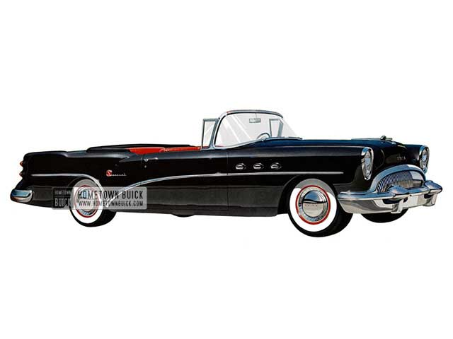 1954 Buick Special Convertible - Model 46C HB