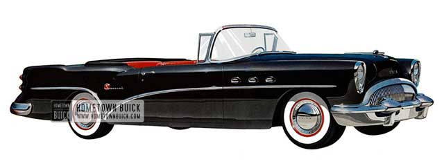 1954 Buick Special Convertible - Model 46C