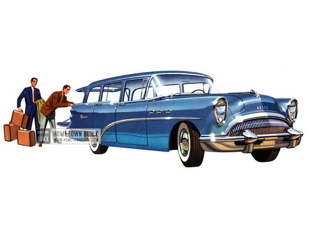 1954 Buick Special Estate Wagon - Model 49 HB