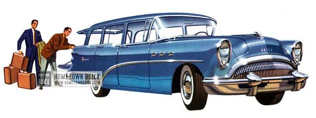 1954 Buick Special Estate Wagon - Model 49