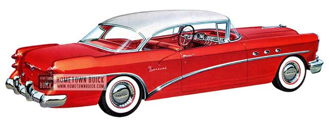 1954 Buick Special Riviera – Model 46R