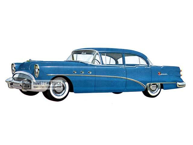 1954 Buick Special Sedan - Model 41D HB