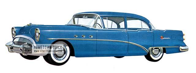 1954 Buick Special Sedan - Model 41D
