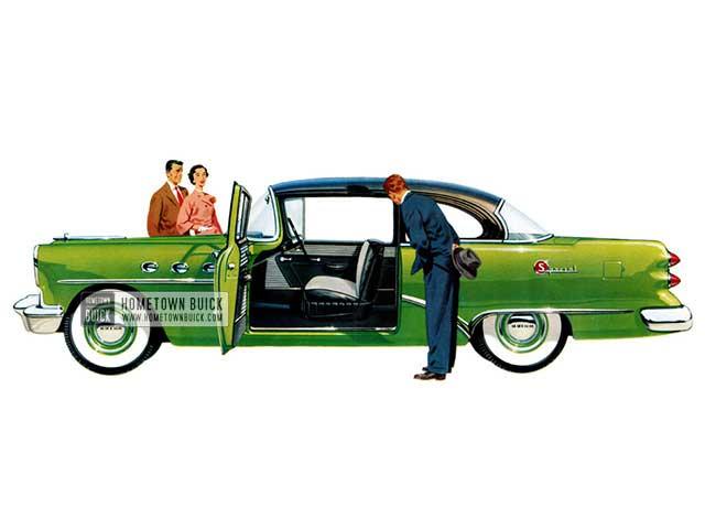 1954 Buick Special Sedan - Model 48D HB