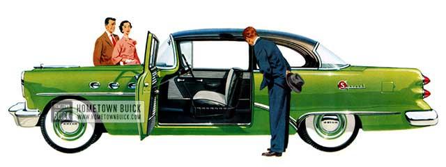 1954 Buick Special Sedan - Model 48D