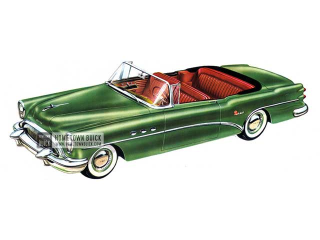 1954 Buick Super Convertible - Model 56C HB