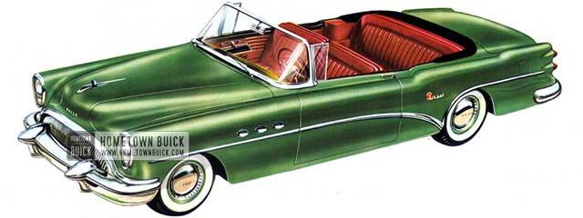 1954 Buick Super Convertible - Model 56C
