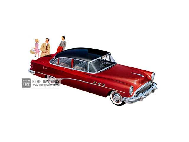 1954 Buick Super Sedan - Model 52 HB
