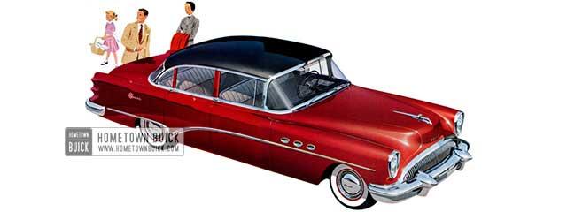 1954 Buick Super Sedan - Model 52