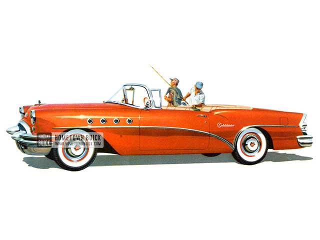 1955 Buick Century Convertible - Model 66C HB
