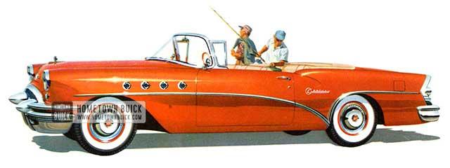 1955 Buick Century Convertible - Model 66C