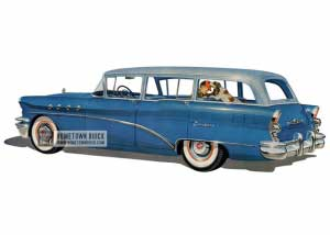 1955 Buick Century Estate Wagon - Model 69 HB