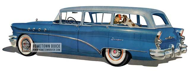 1955 Buick Century Estate Wagon - Model 69