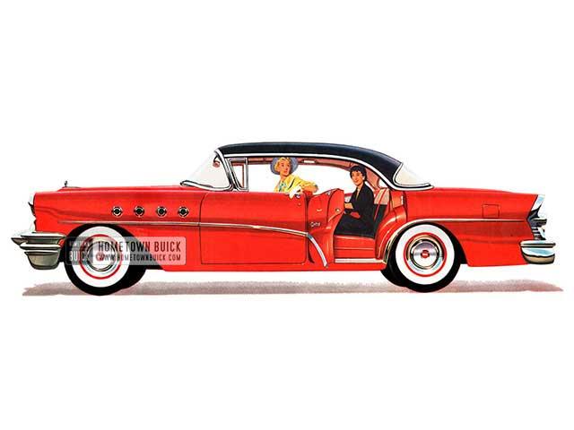 1955 Buick Century Riviera - Model 63 HB