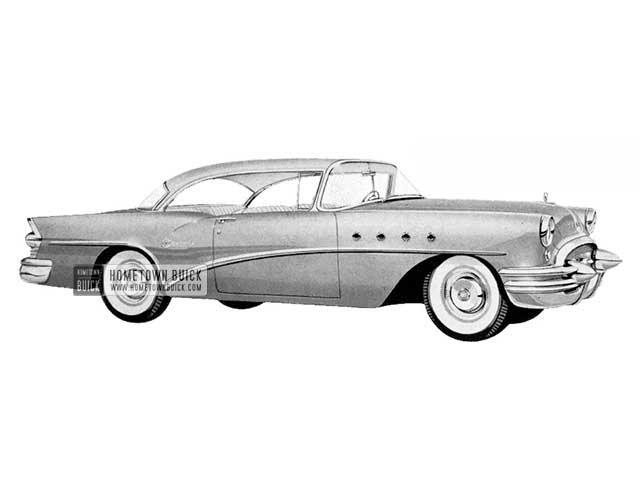 1955 Buick Century Riviera - Model 66R HB