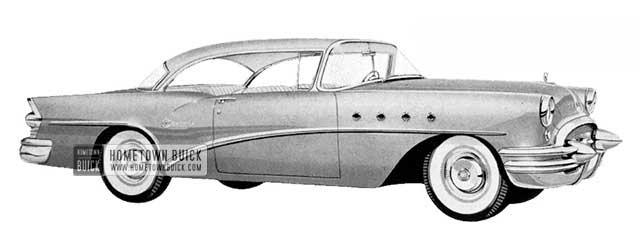 1955 Buick Century Riviera - Model 66R