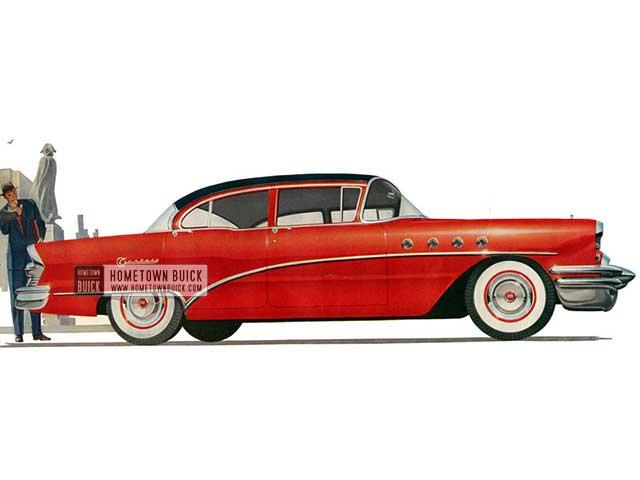 1955 Buick Century Sedan - Model 61 HB