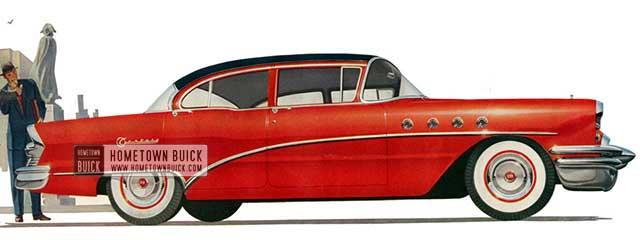 1955 Buick Century Sedan - Model 61