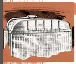 1955 Buick Radiator