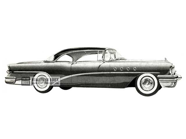 1955 Buick Roadmaster Riviera - Model 76R HB