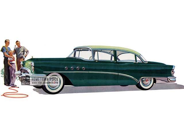 1955 Buick Roadmaster Sedan - Model 72 HB