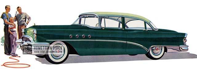 1955 Buick Roadmaster Sedan - Model 72