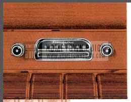 1955 Buick Selectronic Radio