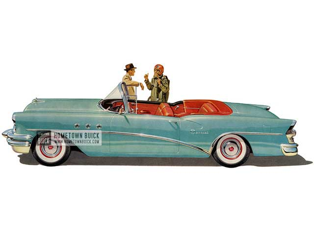 1955 Buick Special Convertible - Model 46C HB