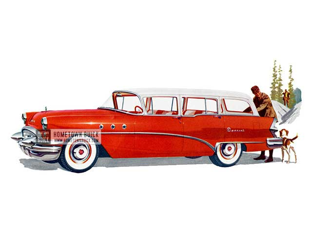 1955 Buick Special Estate Wagon - Model 49 HB