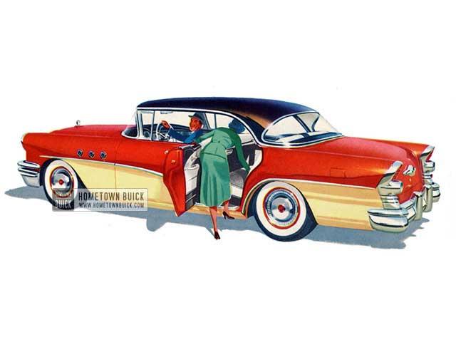 1955 Buick Special Riviera Sedan - Model 43 HB
