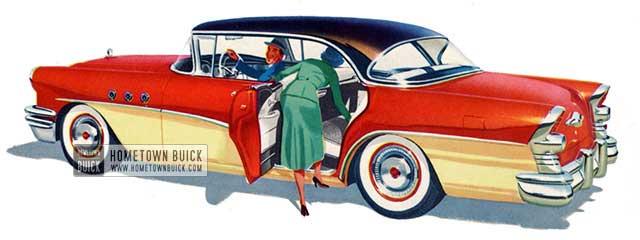 1955 Buick Special Riviera Sedan - Model 43