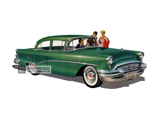 1955 Buick Special Sedan - Model 41 HB